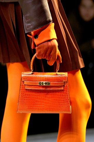Hermès sac Kelly croco