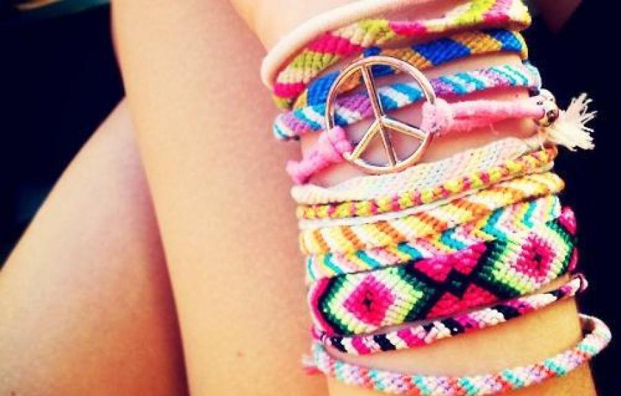 Les Bracelets Brsiliens De Notre Enfance Reviennent En