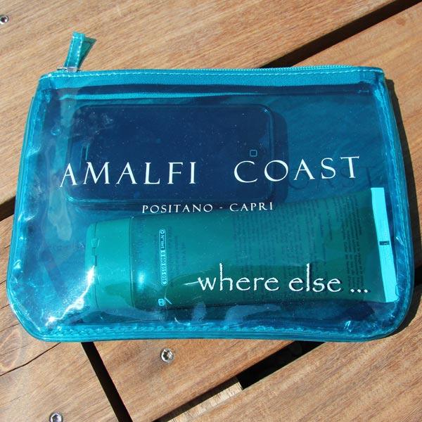 Where Else pochette Medium Amalfi Coast turquoise