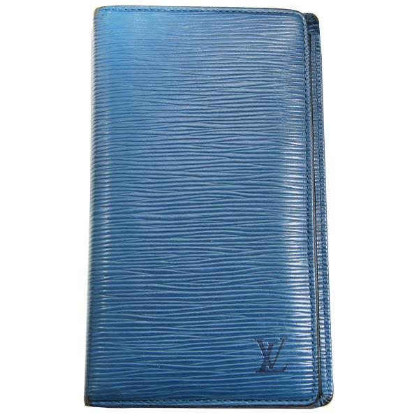 Louis Vuitton Portefeuille bleu