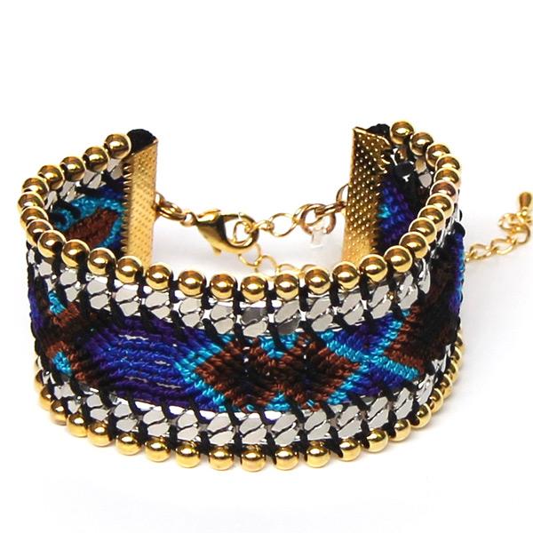 Full Art Bracelet San Diego bleu turquoise