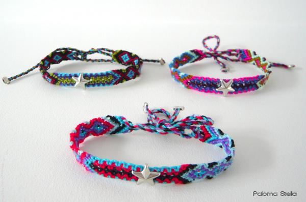 Paloma Stella bracelets brésiliens en argent