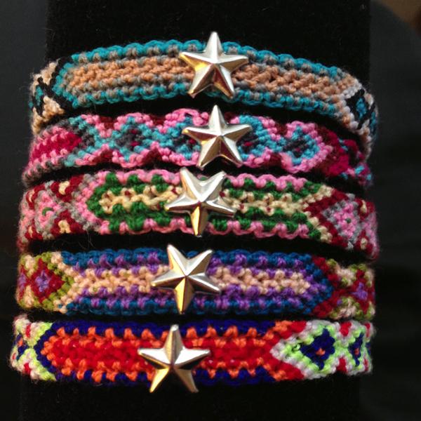Paloma Stella bracelet bresilien etoile dore