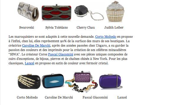 Pascal giacomini minaudiere fashion spider