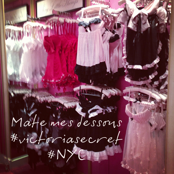 Lingerie Victoria's Secret ©matemonsac.com