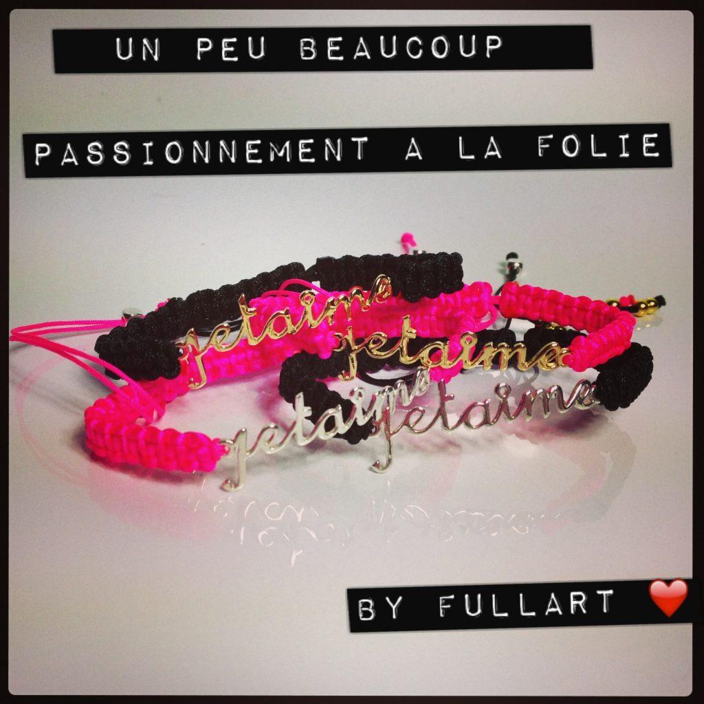 full art bracelets saint valentin