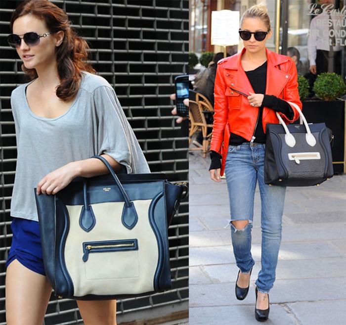celebrites sacs Celine