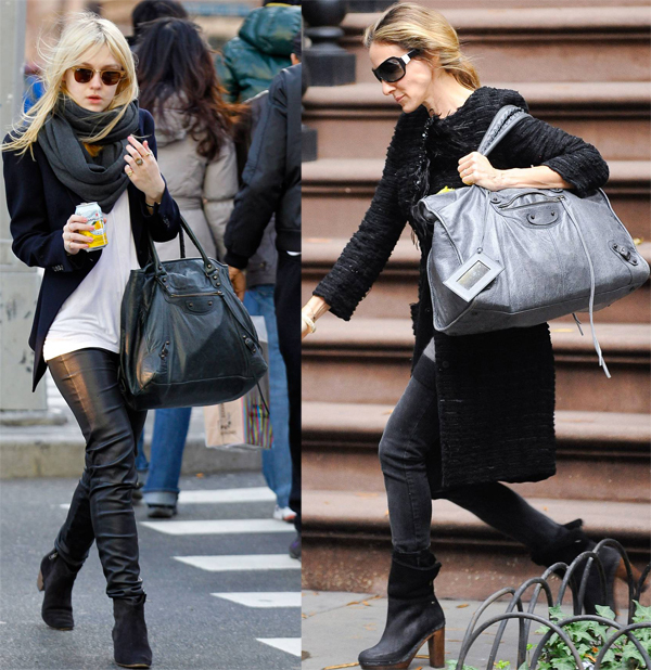 celebrites sacs Balenciaga
