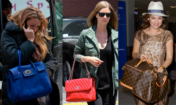 louis vuitton chanel et mulberry celebrites