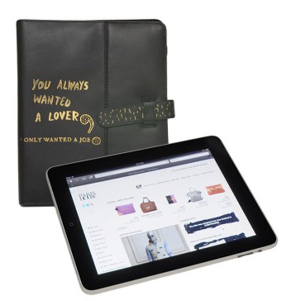 Housse iPad en cuir Paris House