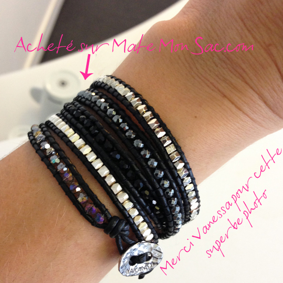 Bracelet Wrap Nakamol de Vanessa