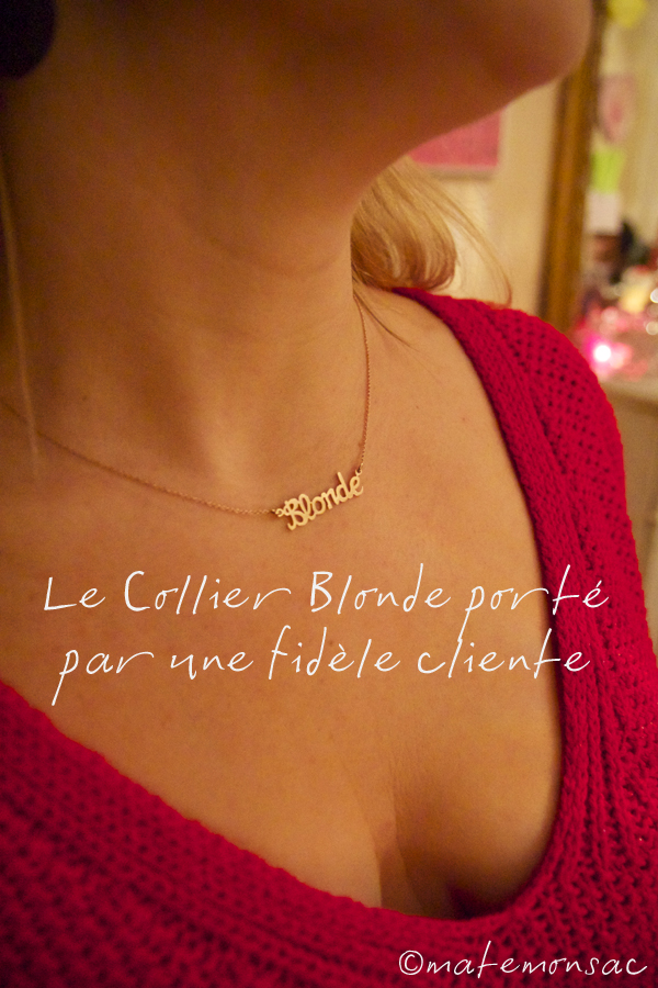 by-matemonsac-collier-blonde-or-porte