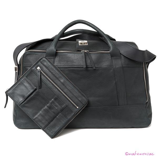 cala-sac-48h-GW-cuir-vachette-noir-devant+pochette-Ipad-HD