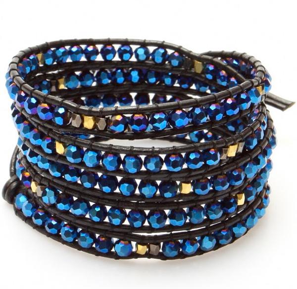 nakamol-bracelet-wrap-noir-bleu-CBX809-GUN copie