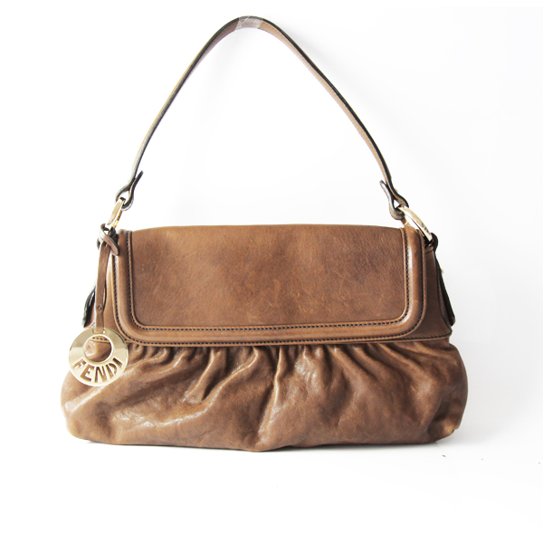 fendi-sac-a-main-cuir-souple-chocolat-vintage