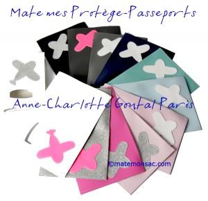 Protège-passeport Anne-Charlotte Goutal
