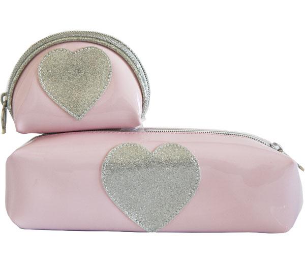 Anne-Charlotte-Goutal-trousse-a-crayons-porte-monnaie-rose-pale-coeur-argent