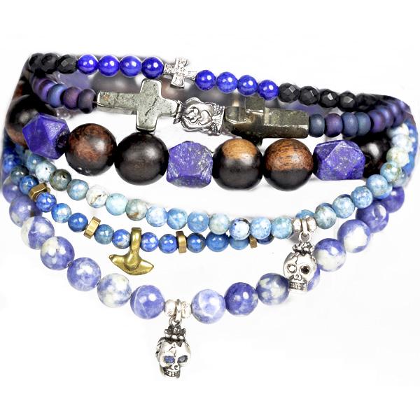 catherine-michiels-bracelets-stardust-mix-bleu