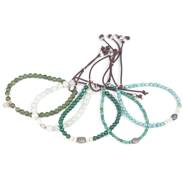 catherine-michiels-bracelets-stardust-mix-vert