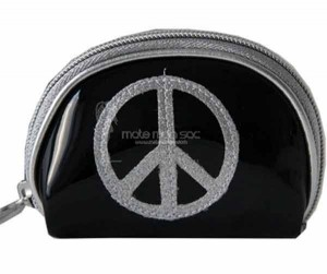 porte-monnaoe-peace-and-love-noir-argent