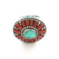 bague-corail-turquoise