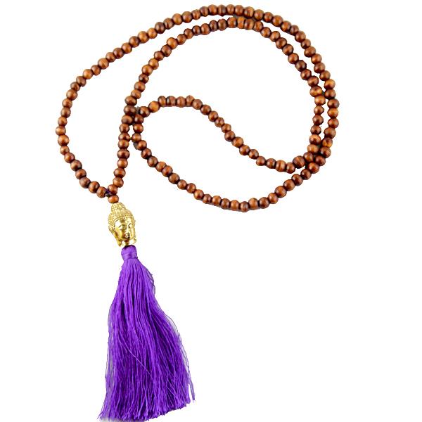collier-buddha-brun-bali-ethnique-brun-violet-