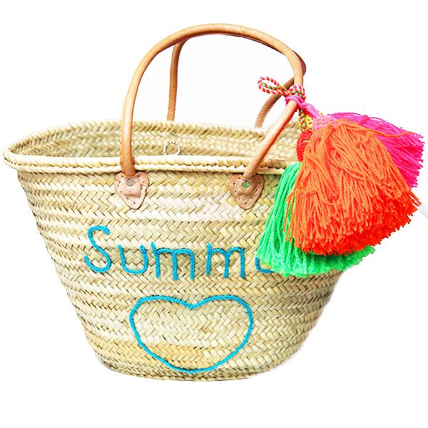 panier-cabas-plage-tresse-summer-pompon-turquoise-matemonsac