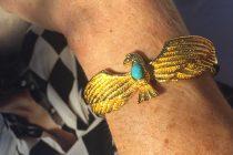 bracelet-dore-or-aigle-turquoise