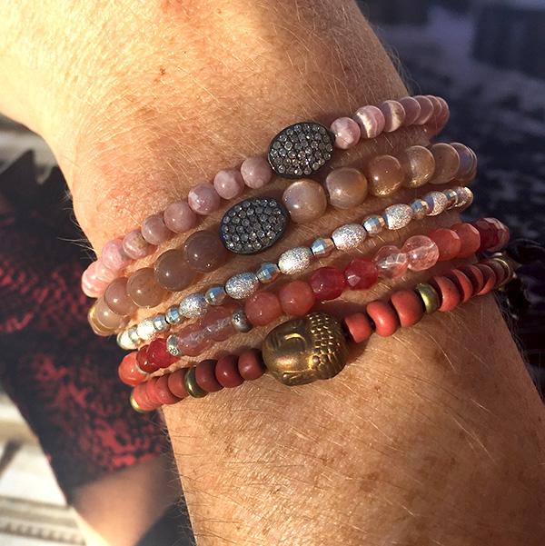 catherine-michiels-bracelet-stardust-agate-tourmaline-rose