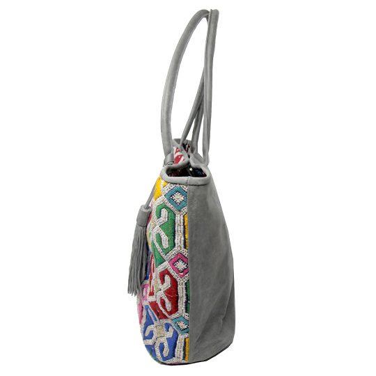 cabas-kilim-rive-gauche-multicolore-cuir-gris