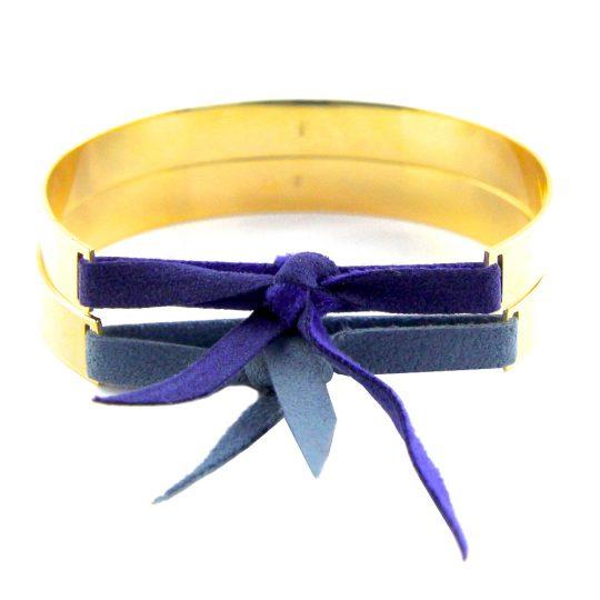 paloma-stella-bracelet-jonc-xxl-or-nubuck-bleu