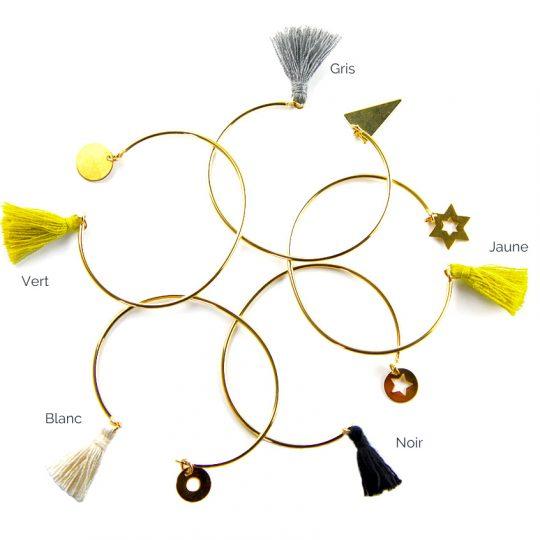 paloma-stella-bracelet-jonc-or-precious-pompom-medaille-couleurs
