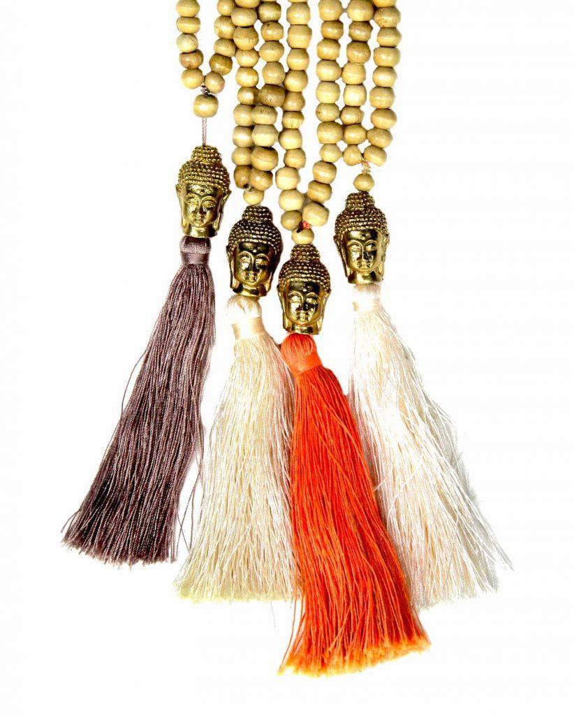 collier-bouddha-bronze-perles-beiges-mix