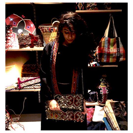 Les A-wa sisters aiment les sacs de maud fourier Paris !