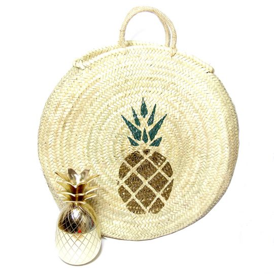 L'Ananas est tendance cet été, notre sélection d'accessoires.