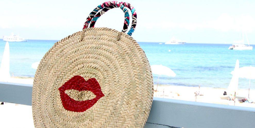 maud-fourier-panier-plage-rond-peint-kiss