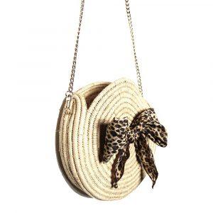 panier personnalise avec noeud leopard par maud fourier paris