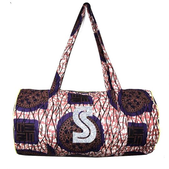 sac polochon coton wax personnalisable maud fourier