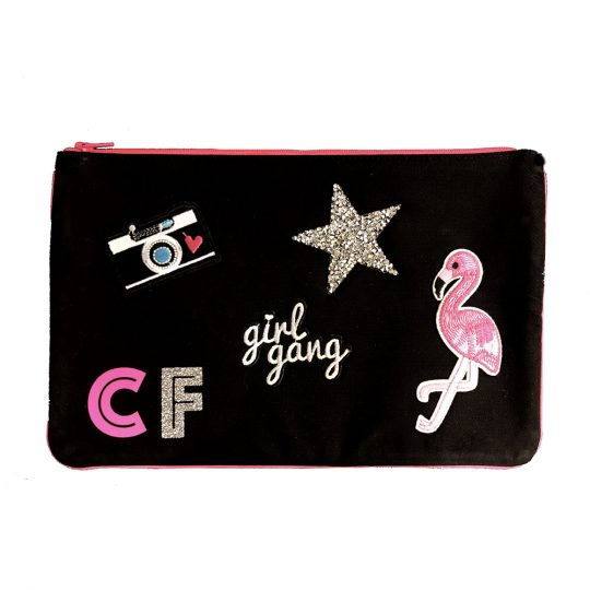 pochette personnalisable badges maud fourier paris