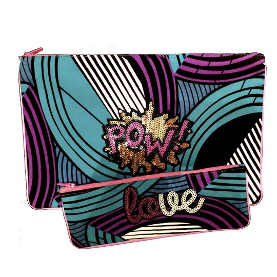 trousse coton wax personnalise love par maud fourier