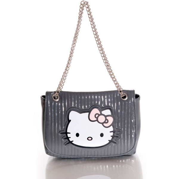hello kitty sac vernis matelasse