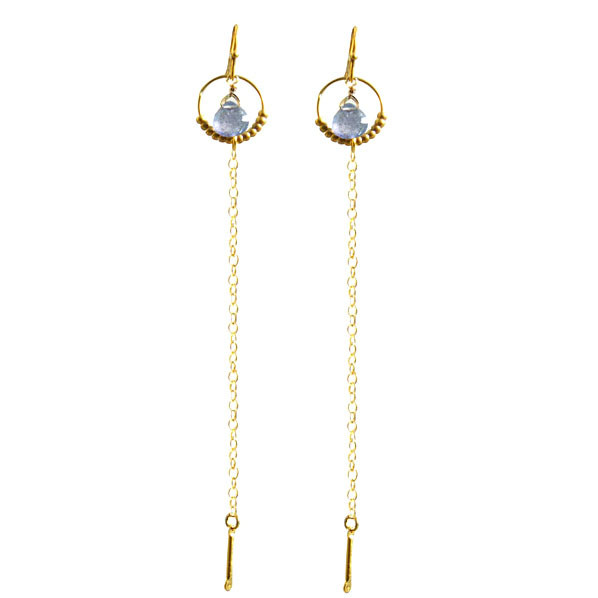 Loshy boucles d oreille en Tanzanite