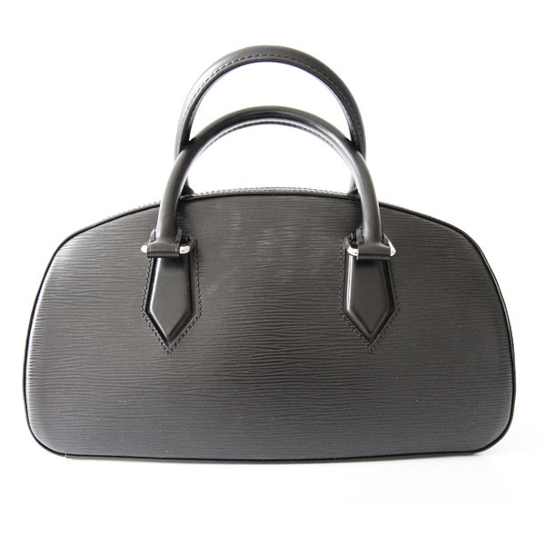 Louis Vuitton sac à main en cuir épi noir dfe6bb2f7df