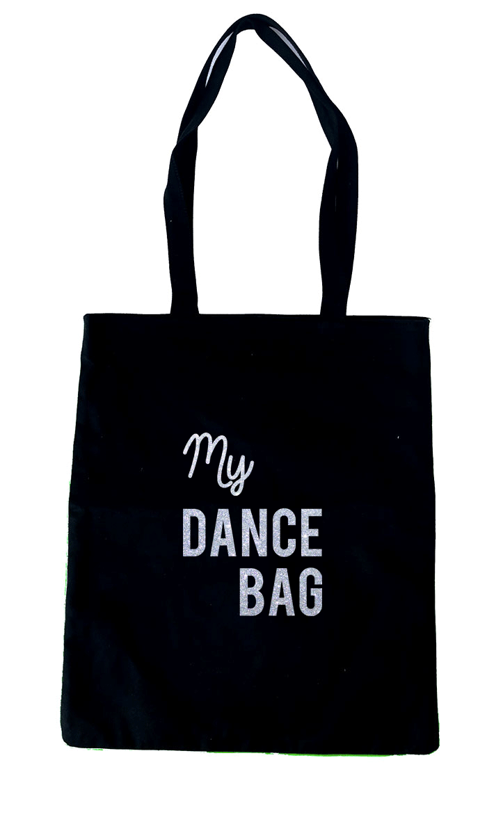 tote bag dance bag glitter maud fourier