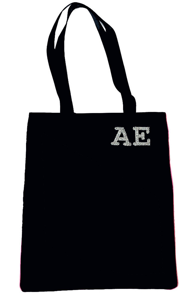tote bag personnalisable initiales strass par maud fourier