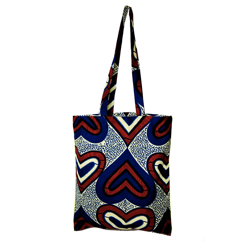 tote bag coton wax marine personnalisable maud fourier
