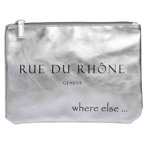 pochette where else rue du rhone argent