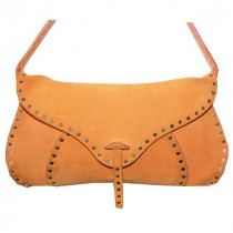 celine sac pourlbot cuir nubuck orange