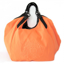 Givenchy sac en toile orange fluo
