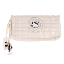 hello kitty sac blanc verni